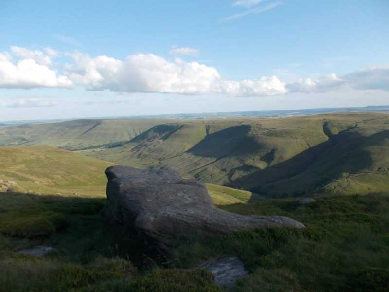 MountainViews.ie Picture about mountain Kinder Scout  in area Lancashire, Cheshire & the Southern Pennines, Ireland