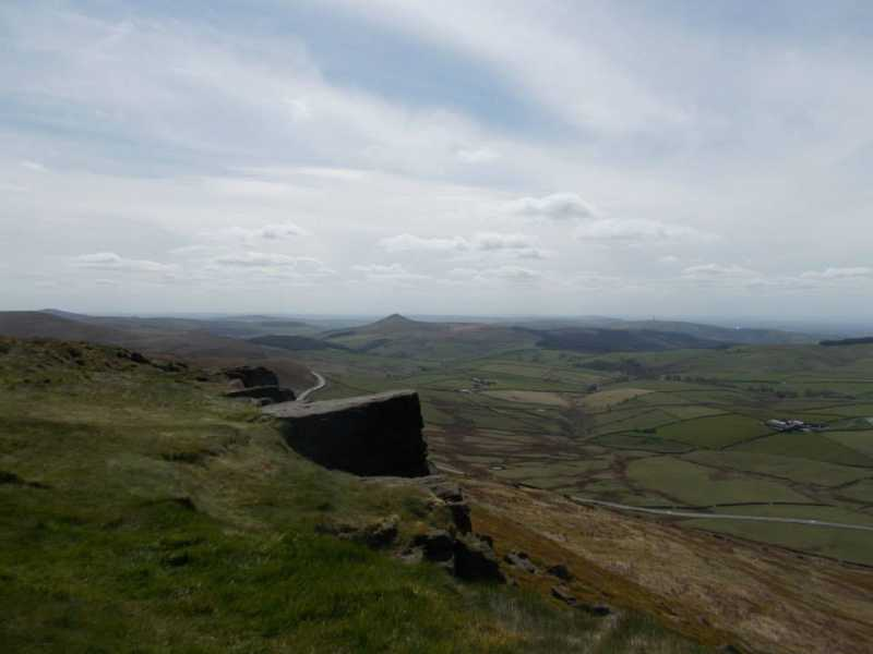 MountainViews.ie Picture about mountain Shining Tor in area Lancashire, Cheshire & the Southern Pennines, Ireland