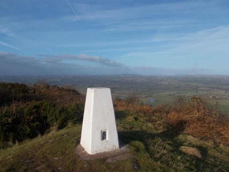 MountainViews.ie Picture about mountain Merbach Hill in area West Gloucestershire, Hereford & Worcester, Ireland