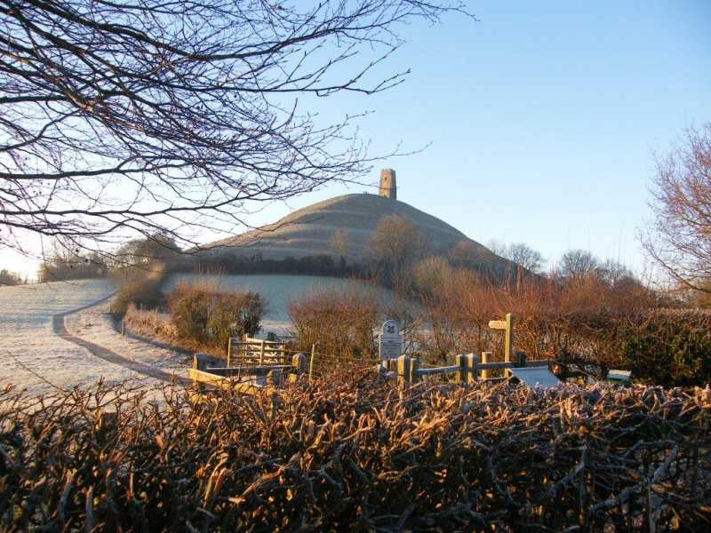 MountainViews.ie Picture about mountain Glastonbury Tor in area South Central England, Ireland
