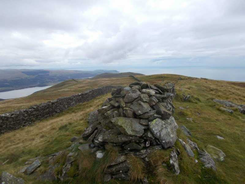 MountainViews.ie Picture about mountain Craig y Grut [Llawlech]  in area Barmouth to Betws-y-Coed and Bala, Ireland