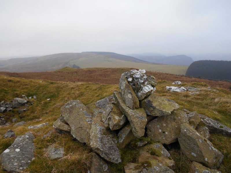 MountainViews.ie Picture about mountain Carnedd Das Eithin  in area Bala to Welshpool, Ireland