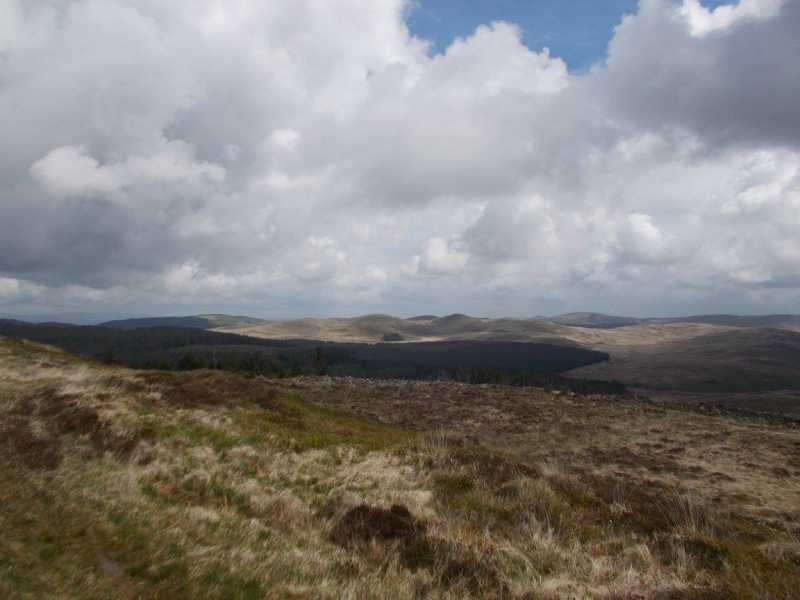 MountainViews.ie Picture about mountain Banc Bwlchygarreg  in area Aberystwyth to Welshpool, Ireland