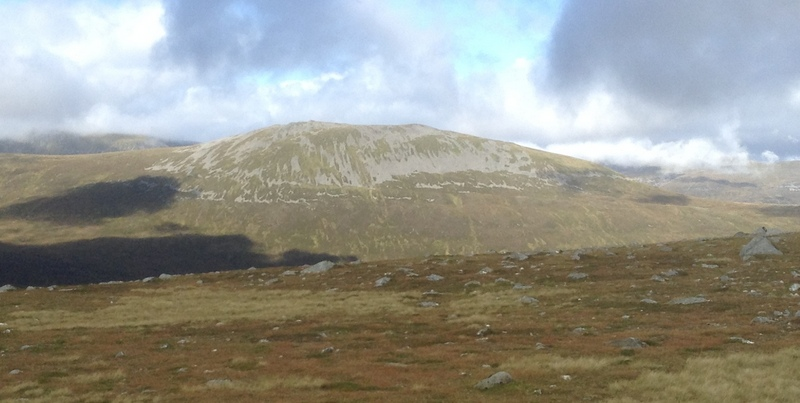 MountainViews.ie Picture about mountain Carn Dearg  in area Loch Treig to Loch Ericht, Ireland