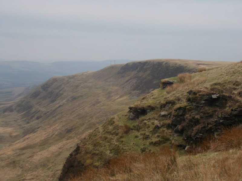 MountainViews.ie Picture about mountain Hirwaun Common  in area Neath to Chepstow, Ireland