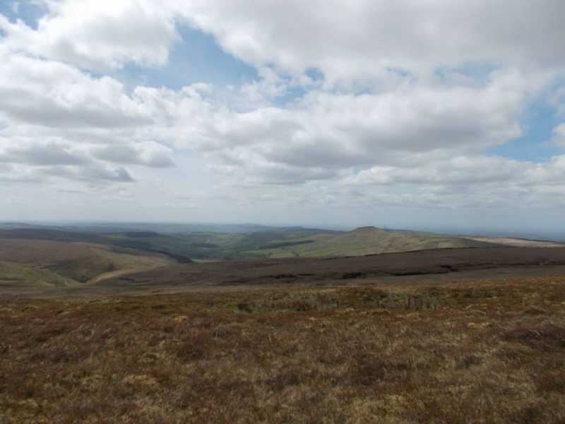 MountainViews.ie Picture about mountain Whetstone Ridge  in area Lancashire, Cheshire & the Southern Pennines, Ireland
