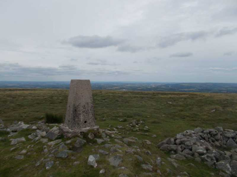 MountainViews.ie Picture about mountain Cosdon Hill [South Tawton Common]  in area Cornwall & Devon, Ireland