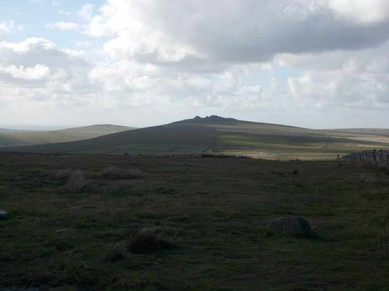 MountainViews.ie Picture about mountain North Hessary Tor  in area Cornwall & Devon, Ireland