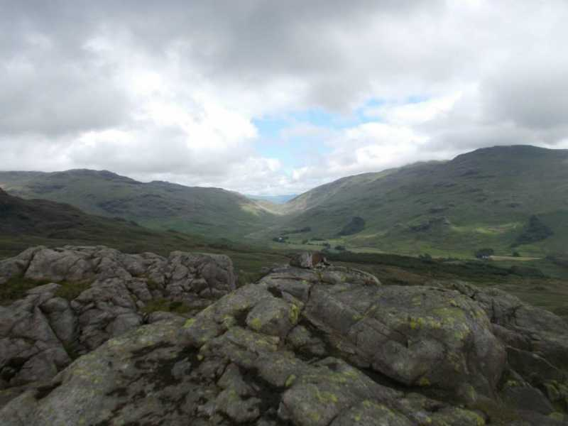 MountainViews.ie Picture about mountain Horsehow Crags in area Southern Cumbria, Ireland