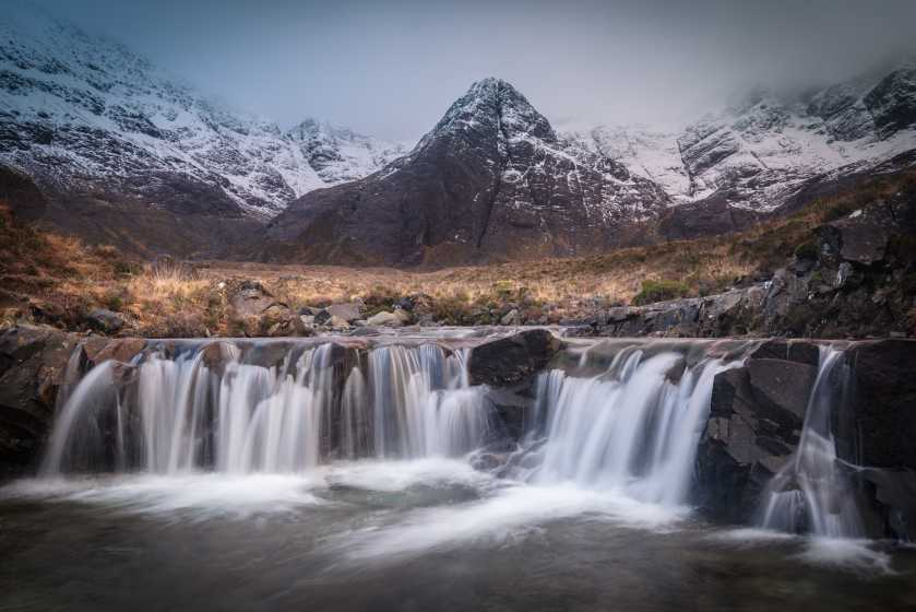MountainViews.ie Picture about mountain Sgurr an Fheadain in area Minginish and the Cuillin Hills, Ireland