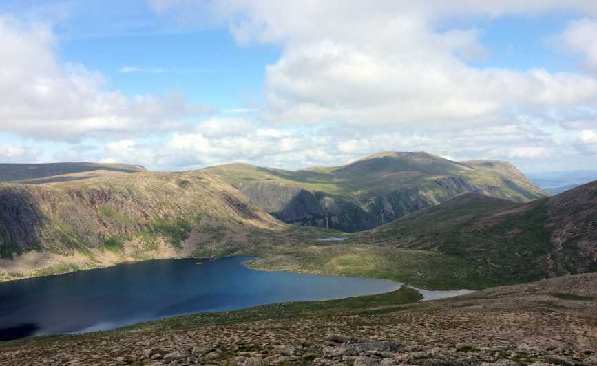 MountainViews.ie Picture about mountain Cairn Gorm in area Cairngorms, Ireland