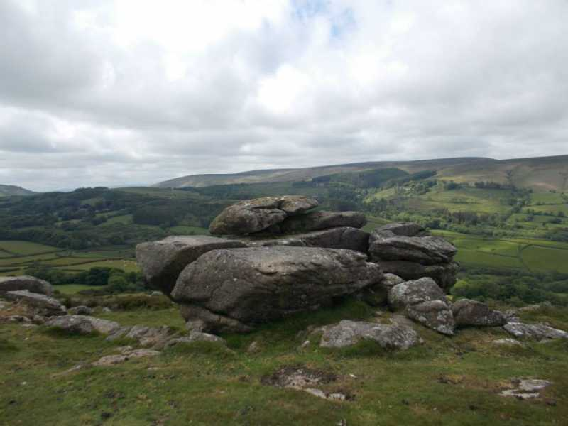 MountainViews.ie Picture about mountain Easdon Tor in area Cornwall & Devon, Ireland