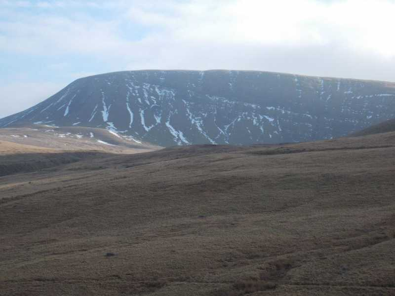 MountainViews.ie Picture about mountain Fan Brycheiniog - Twr y Fan Foel  in area Llandovery to Monmouth, Ireland