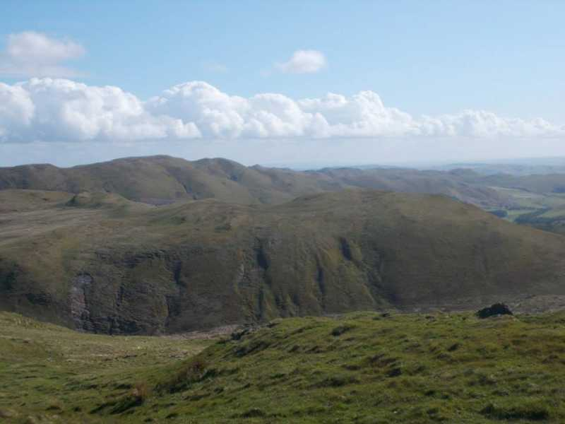 MountainViews.ie Picture about mountain Cripiau Eisteddfa-fach in area Aberystwyth to Welshpool, Ireland