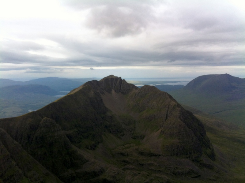 MountainViews.ie Picture about mountain Liathach - Mullach an Rathain in area Loch Torridon to Loch Maree, Ireland