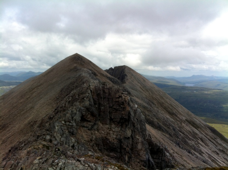 MountainViews.ie Picture about mountain Sgurr Ban in area Loch Torridon to Loch Maree, Ireland