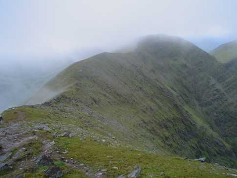 MountainViews.ie Picture about mountain Cnoc an Chuillinn East Top in area MacGillycuddy