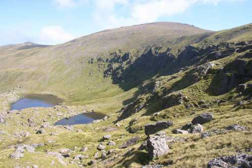 MountainViews.ie Picture about mountain Baurtregaum in area Slieve Mish, Ireland