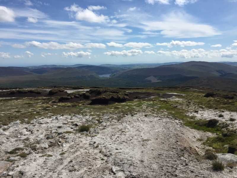 MountainViews.ie Picture about mountain Mullaghcleevaun in area Dublin/Wicklow, Ireland