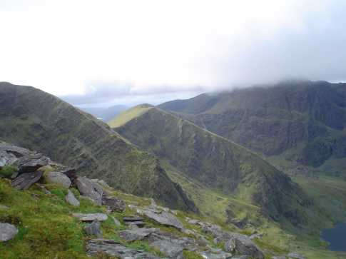 MountainViews.ie Picture about mountain Cnoc na Toinne in area MacGillycuddy
