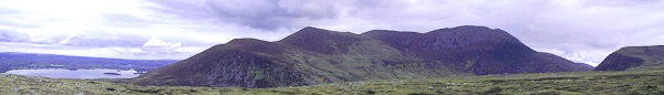 MountainViews.ie Picture about mountain Purple Mountain in area Purple Mtn, Ireland