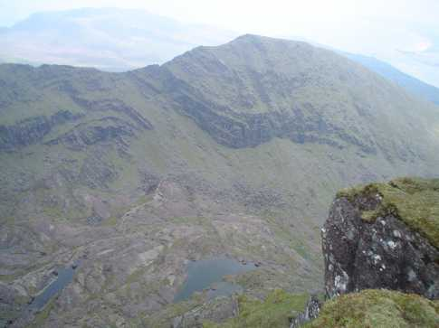 MountainViews.ie Picture about mountain Benagh in area Brandon Group, Ireland