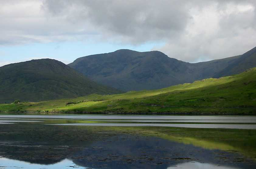MountainViews.ie Picture about mountain Mweelrea in area Mweelrea Mountains, Ireland