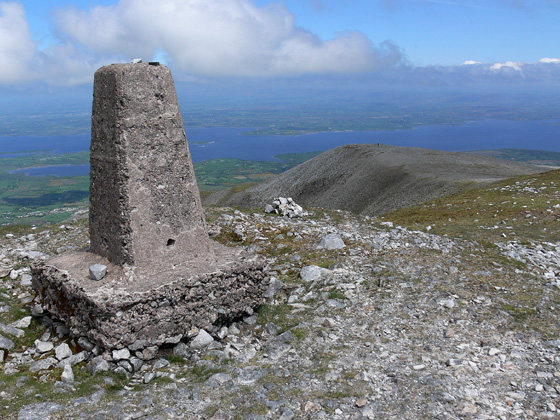 MountainViews.ie Picture about mountain Nephin (<i>Néifinn</i>) in area East Mayo, Ireland