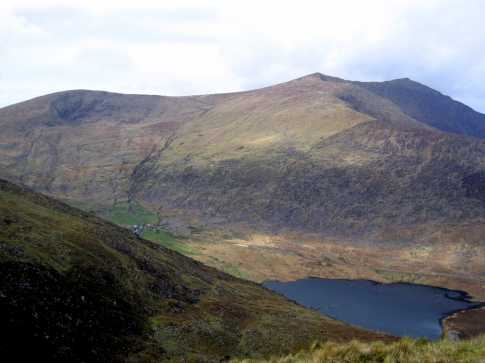 MountainViews.ie Picture about mountain Gearhane in area Brandon Group, Ireland