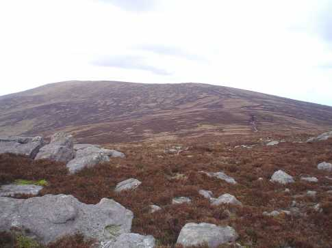 MountainViews.ie Picture about mountain Greenane (<i>An Grianán</i>) in area Galty Mountains, Ireland