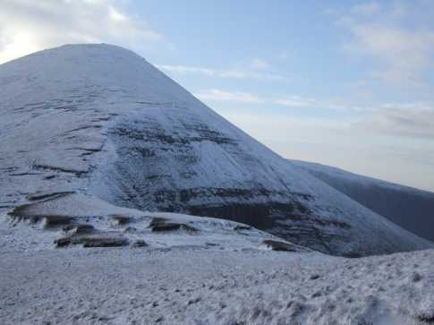 MountainViews.ie Picture about mountain Galtybeg in area Galty Mountains, Ireland
