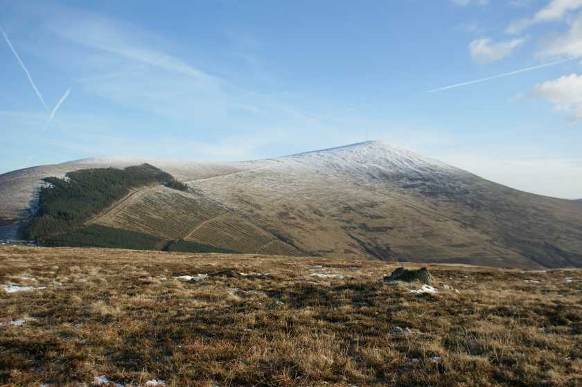 MountainViews.ie Picture about mountain Mount Leinster in area Blackstairs Mountains, Ireland