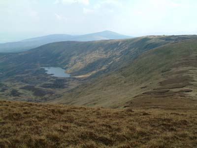 MountainViews.ie Picture about mountain Corrigasleggaun (<i>Carraig na Sliogán</i>) in area Wicklow, Ireland