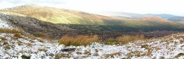 MountainViews.ie Picture about mountain Mullaghcleevaun East Top in area Dublin/Wicklow, Ireland