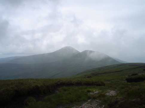 MountainViews.ie Picture about mountain Greenane West in area Galty Mountains, Ireland