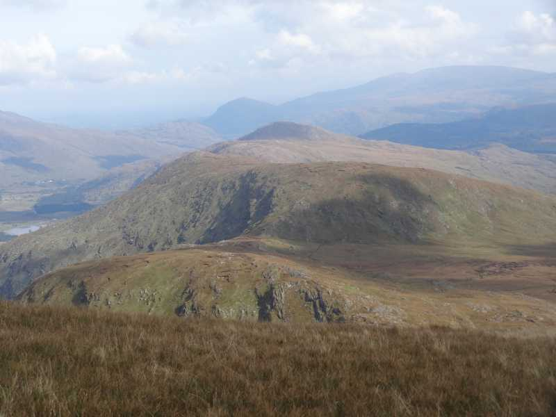 MountainViews.ie Picture about mountain Stumpa Dúloigh SE Top in area Dunkerron Mountains, Ireland