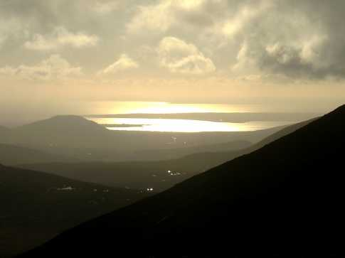 MountainViews.ie Picture about mountain Slieve Commedagh (<i>Sliabh Coimhéideach</i>) in area Mourne Mountains, Ireland