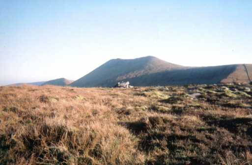 MountainViews.ie Picture about mountain Slievecushnabinnia in area Galty Mountains, Ireland