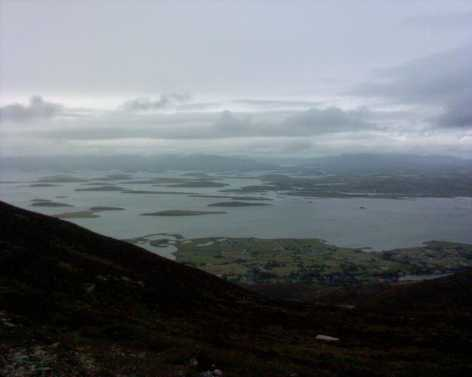 MountainViews.ie Picture about mountain Croagh Patrick (<i>Cruach Phádraig</i>) in area Croagh Patrick, Ireland
