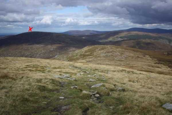 MountainViews.ie Picture about mountain Camenabologue in area Dublin/Wicklow, Ireland