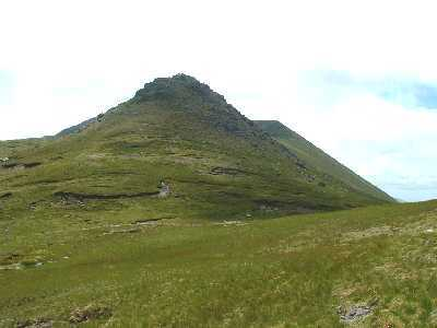 MountainViews.ie Picture about mountain Piaras Mór in area Brandon Group, Ireland
