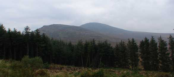 MountainViews.ie Picture about mountain Blackstairs Mountain in area Blackstairs Mountains, Ireland