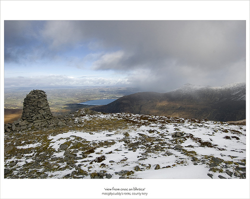 MountainViews.ie Picture about mountain Cnoc an Bhráca in area MacGillycuddy
