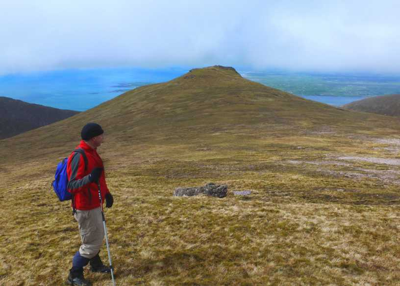 MountainViews.ie Picture about mountain Baurtregaum NW Top in area Slieve Mish, Ireland