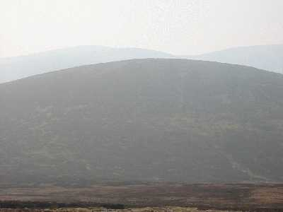 MountainViews.ie Picture about mountain Duff Hill in area Dublin/Wicklow, Ireland