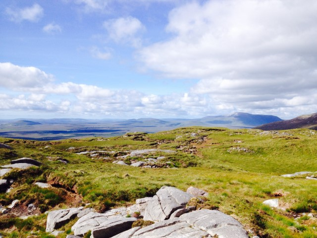 MountainViews.ie Picture about mountain Corranabinnia in area North Mayo, Ireland