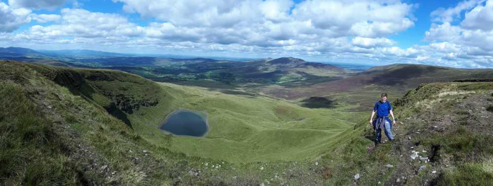 MountainViews.ie Picture about mountain Coumfea West Top in area Comeragh Mountains, Ireland
