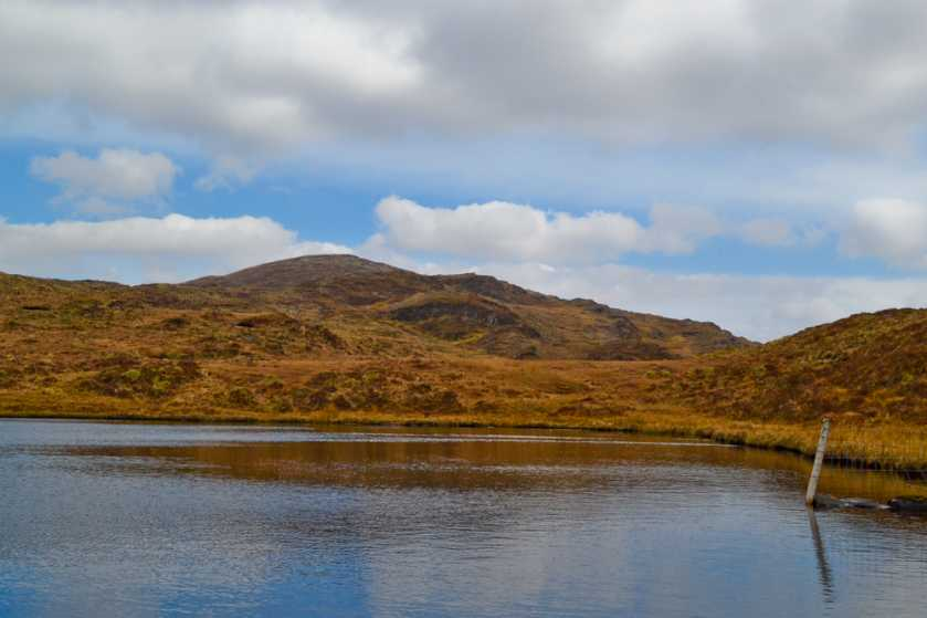 MountainViews.ie Picture about mountain Knockboy (<i>An Cnoc Buí</i>) in area West Cork Mountains, Ireland