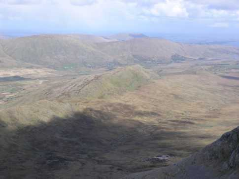 MountainViews.ie Picture about mountain Binn idir an dá Log in area Maamturks, Ireland