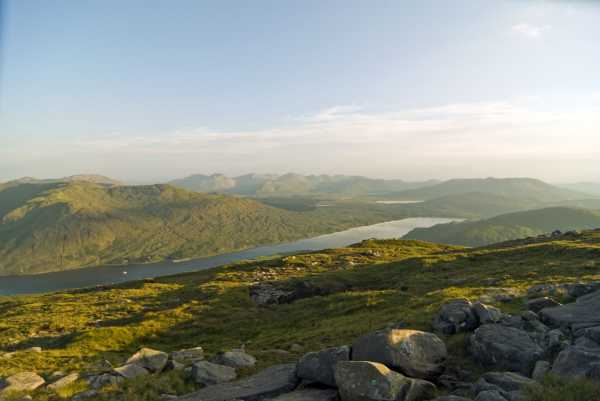 MountainViews.ie Picture about mountain Ben Gorm in area Ben Gorm Mountains, Ireland